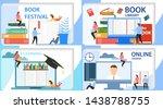online education  online...   Shutterstock .eps vector #1438788755