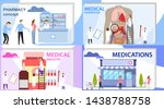 medical industry. mini people...   Shutterstock .eps vector #1438788758