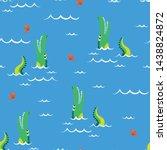 Swimmer Alligator Pattern...