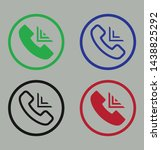 colorful call vector stroke and ...