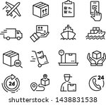 collections of icons... | Shutterstock .eps vector #1438831538