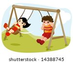 swing   vector | Shutterstock .eps vector #14388745