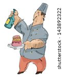 confectioner | Shutterstock .eps vector #143892322