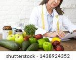 food  nutrition  health ... | Shutterstock . vector #1438924352