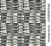 monochrome broken geometric... | Shutterstock .eps vector #1438989968