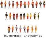 pakaian tradisionl nasional... | Shutterstock .eps vector #1439009492
