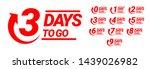 countdown left days banner.... | Shutterstock .eps vector #1439026982