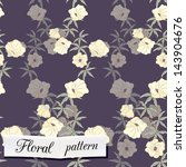 floral seamless pattern can be... | Shutterstock .eps vector #143904676