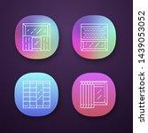 window decoration app icons set....