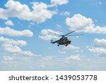 Flying Military Transport...