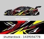 car graphic design concept.... | Shutterstock .eps vector #1439056778
