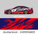 car graphic design concept.... | Shutterstock .eps vector #1439056805