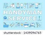 handyman service word concepts...