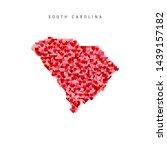 I Love South Carolina. Red And...