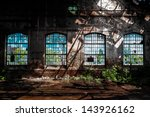 Abandoned Industrial Interior...