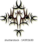 tribal art design | Shutterstock .eps vector #14392630