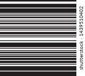 ratio between all black lines... | Shutterstock .eps vector #1439510402