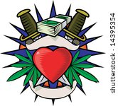 drug tattoo | Shutterstock . vector #14395354