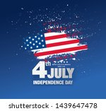 fourth of july independence day ... | Shutterstock .eps vector #1439647478