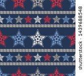 stars. ethnic boho seamless...   Shutterstock .eps vector #1439688548