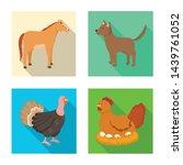vector illustration of breeding ... | Shutterstock .eps vector #1439761052