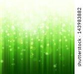 green bokeh abstract light... | Shutterstock . vector #143983882