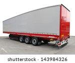 Long Freight Transport Trailer...