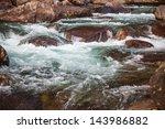 Creek Over Rocks