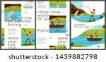 vector typographic summer... | Shutterstock .eps vector #1439882798