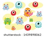 background with fun colored...   Shutterstock .eps vector #1439898062