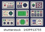 control panel in spaceship with ...
