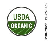 Usda Organic Shield Sign....
