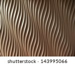 Abstract Wave Curve Pattern O...
