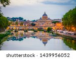 St. Peter\'s Basilica In Rome...