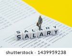 miniature figure working... | Shutterstock . vector #1439959238