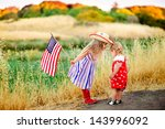 group of two happy adorable...   Shutterstock . vector #143996092