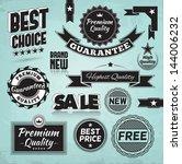 promotion design elements.... | Shutterstock .eps vector #144006232