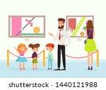 vector illustration of cute... | Shutterstock .eps vector #1440121988