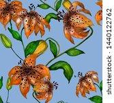 watercolor seamless pattern... | Shutterstock . vector #1440122762