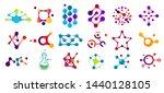 Connected Molecules. Molecule...