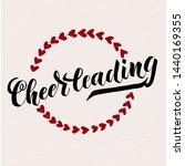 cheerleading lettering text... | Shutterstock .eps vector #1440169355