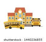 school building of primary with ...   Shutterstock .eps vector #1440236855