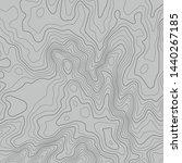 topographic map lines...   Shutterstock .eps vector #1440267185