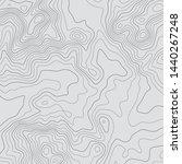 topographic map lines...   Shutterstock .eps vector #1440267248