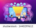 monetization tips. increasing... | Shutterstock .eps vector #1440299612