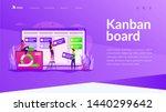 work schedule organization ... | Shutterstock .eps vector #1440299642