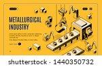 metallurgical industry...   Shutterstock . vector #1440350732