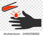acid damaged hand eps vector...   Shutterstock .eps vector #1440358082