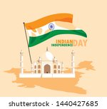 indian independence day poster... | Shutterstock .eps vector #1440427685