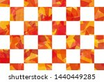 cellophane style plaid... | Shutterstock . vector #1440449285